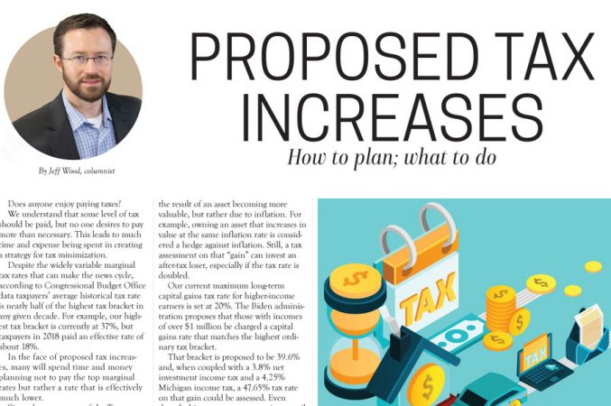 Proposed Tax Increases: How to Plan; What to Do